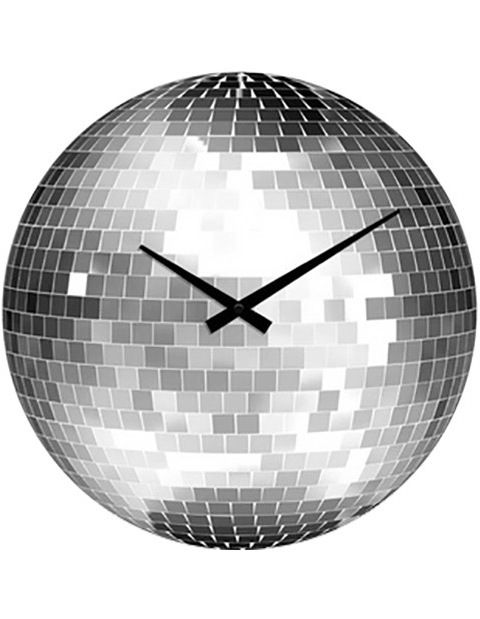 Glitter Ball Wall Clock