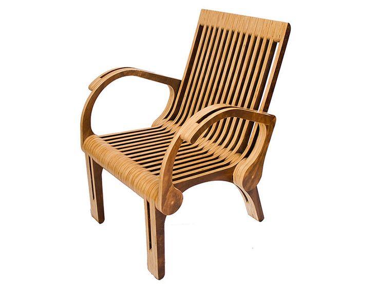 Paut Workshop, mobiliario en madera terciada por Felipe Paut