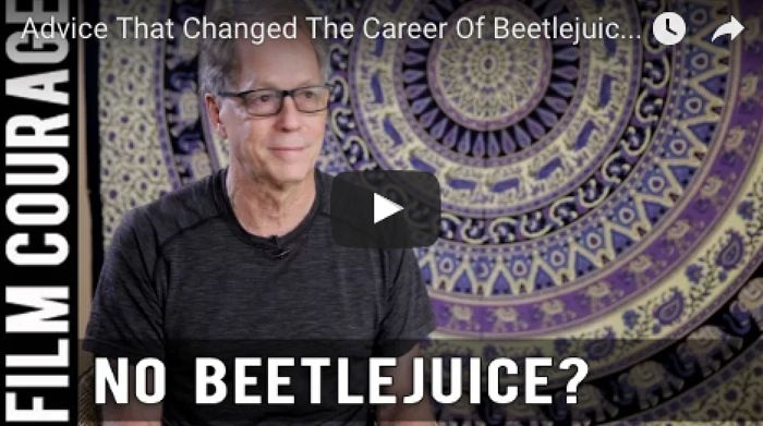 Advice That Changed The Career Of Beetlejuice Screenwriter Larry Wilson via FilmCourage.com.  #screenwriting #beetlejuice #screenplay #amwriting #writingtips #writer