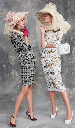 Vogue April 2011 Caroline Trentini and Frida Gustavsson by Arthur Elgort