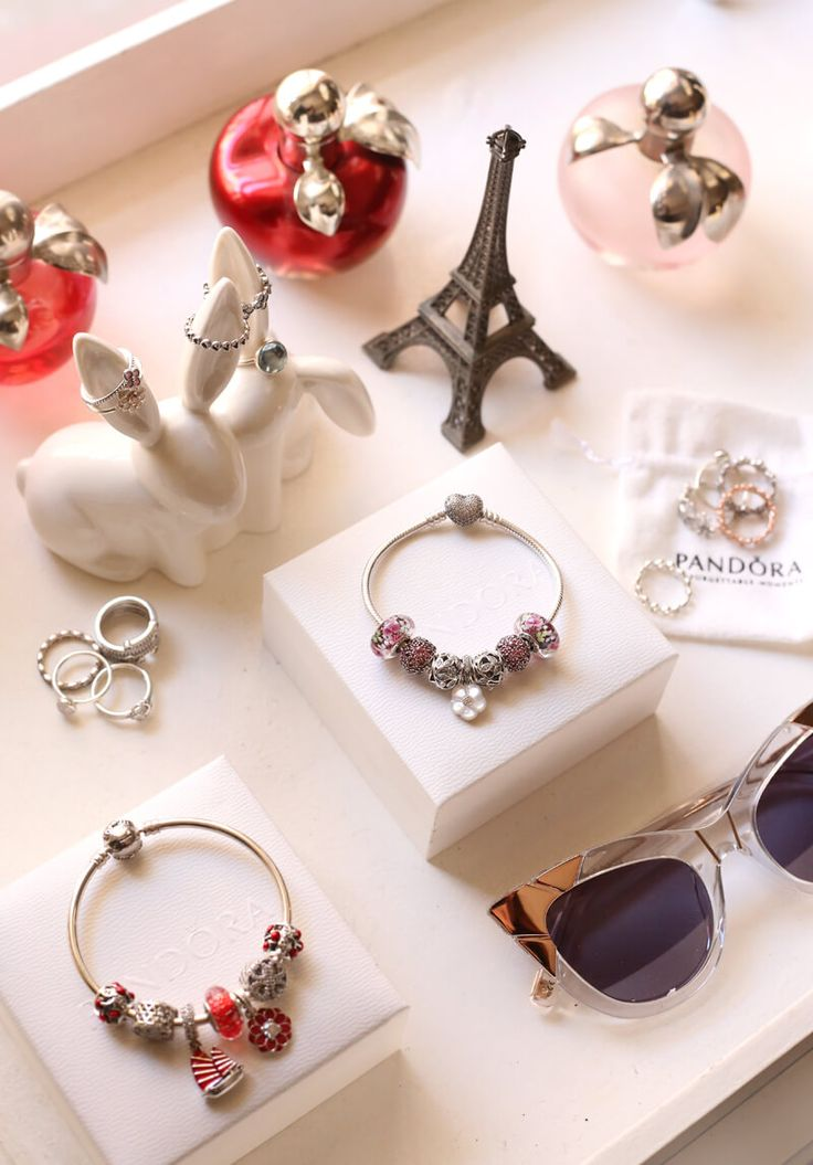 A special post with a few of my favourite things, some Pandora jewelry, sunglasses, the Eiffel Tower and my favourite parfums, including the new Nina Pop.