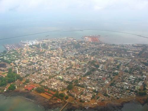 Conakry, Guinea's capital city, West Africa