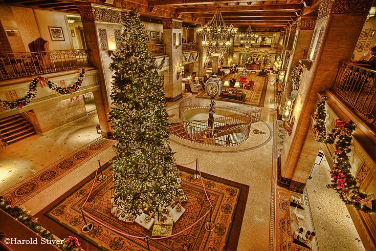 Christmas at the Fairmont Royal York Hotel in Toronto