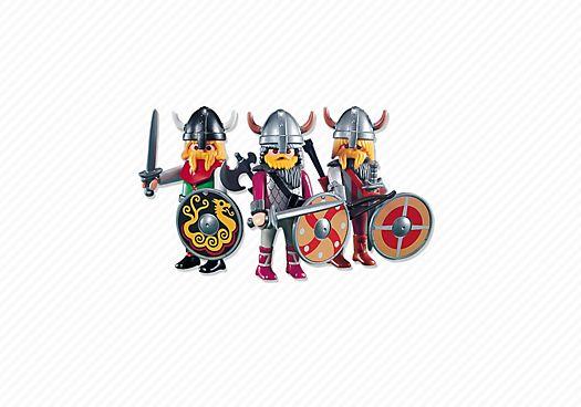 3 Viking warriors
