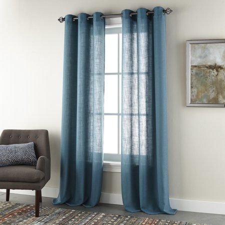 Home Grommet Curtains Panel Curtains Teal Curtains
