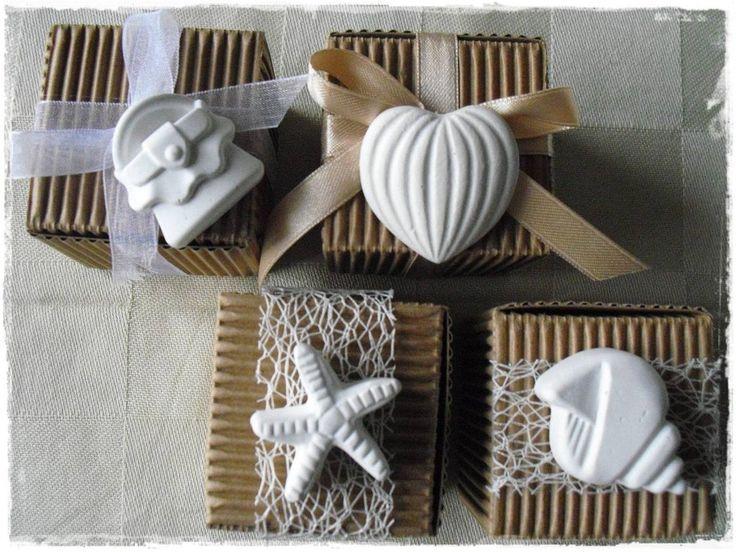 Gessi profumati, bomboniere, segnaposto, cadeaux, by La ricerca della semplicità, 3,50 € su misshobby.com