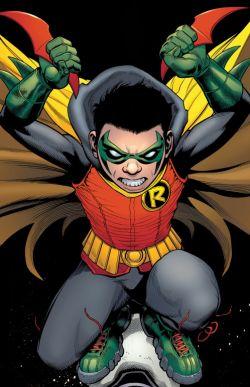 Robin / Damian Wayne (Робин / Дэмиен Уэйн)