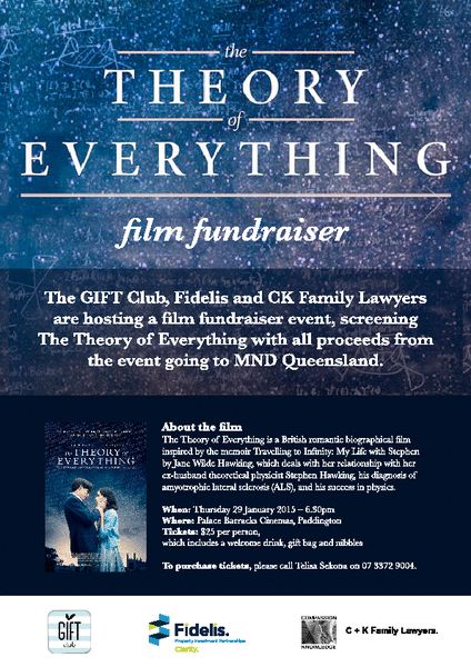 The Theory of Everything #Brisbane premiere charity screening