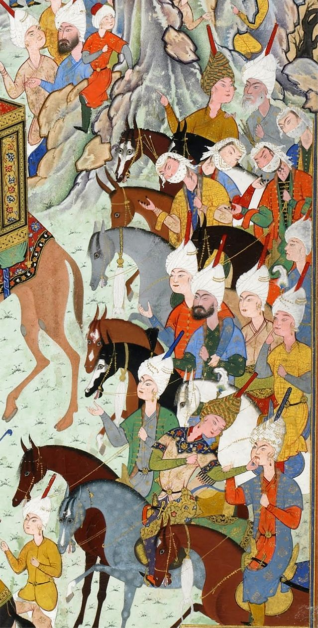 Aziz and Zulaykha enter the capital of Egypt,det.