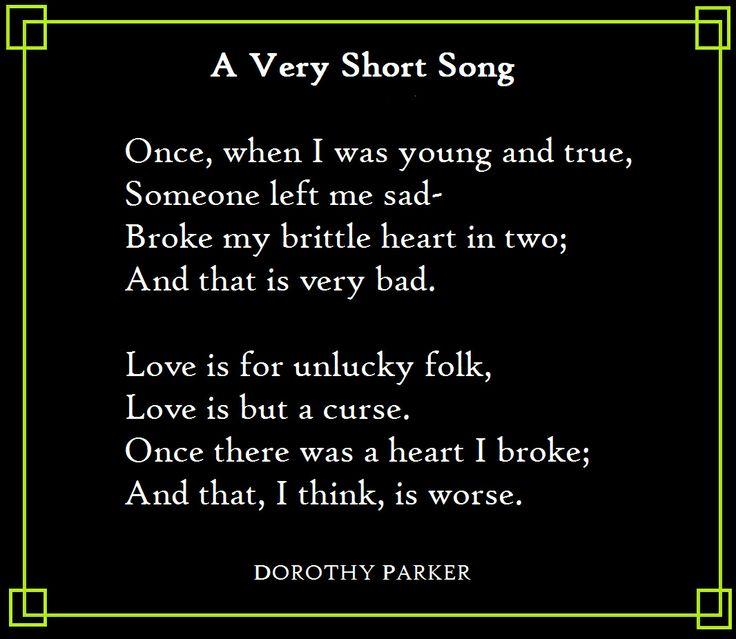 30 best Dorothy Parker images on Pinterest Dorothy parker - resume by dorothy parker