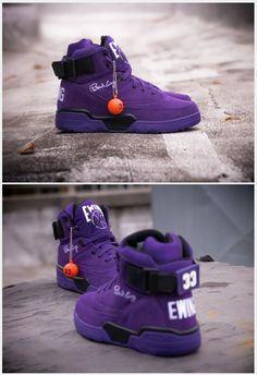 Patrick Ewing Shoes, Purple, Patrick Ewing Sneakers