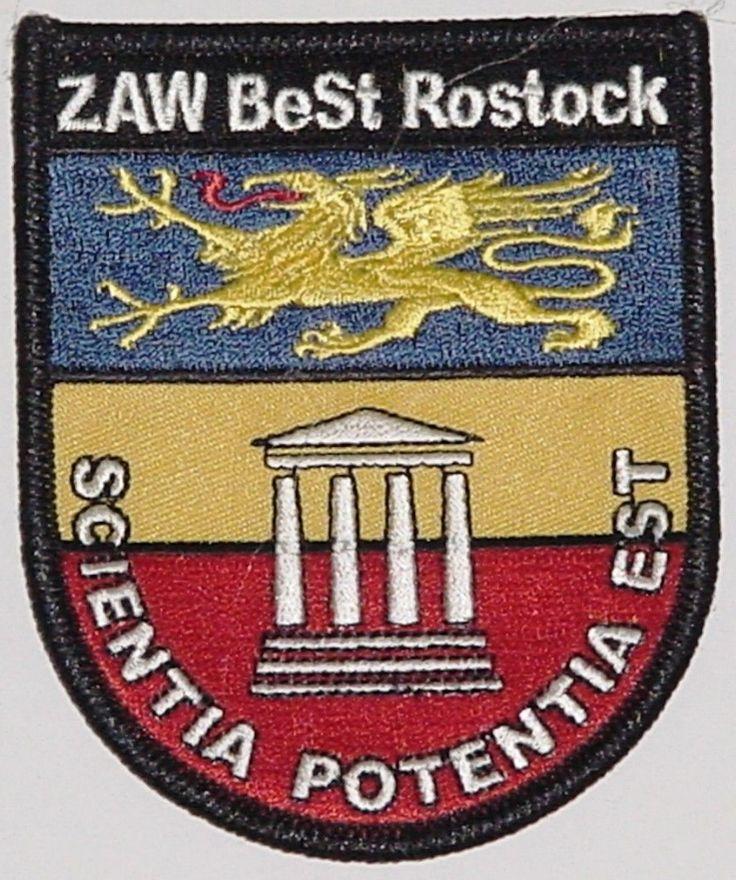 Patch Aufnäher ZAW BeSt Rostock