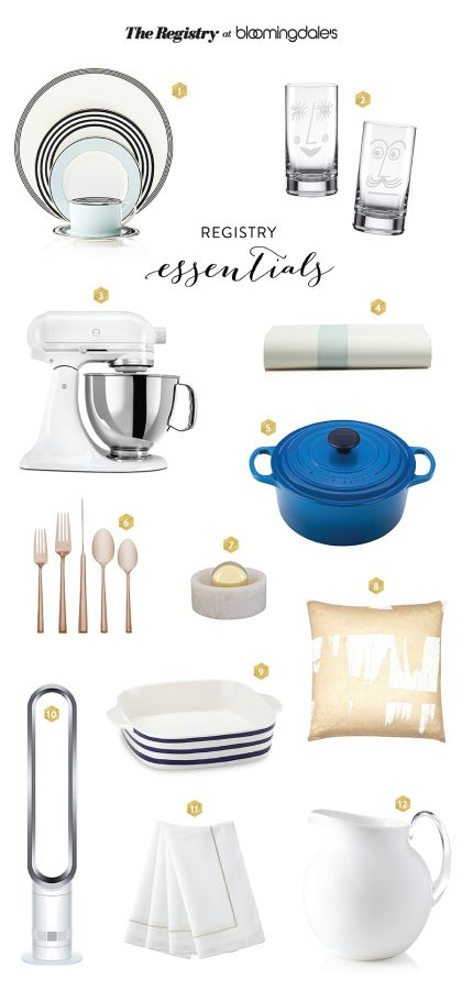 Start the new year right with the Registry at Bloomingdales! http://www.stylemepretty.com/2015/12/14/the-registry-at-bloomingdales-a-special-promotion/