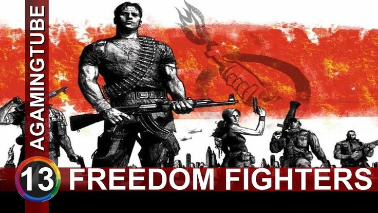 """Freedom Fighters: Mission 13: """"Manhattan TV Station"""" HD Gameplay"""