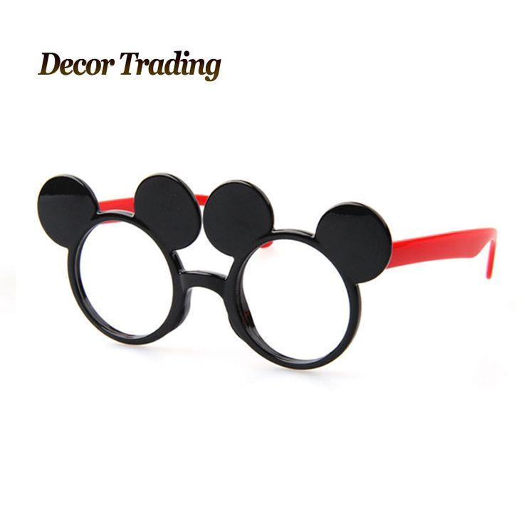 2015 новый дети очки мода дети случайные мальчики мультипликационный персонаж мило микки оттенок уф-защитой очки 3-14 лет старый