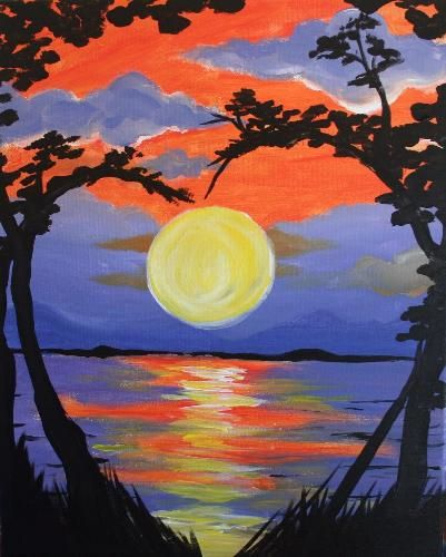 Paint Nite Longisland   Trattoria Lucia, August 7th @ 8 pm - Special Event - includes one drink and raffle ticket!