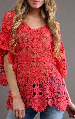 Favorite patterns - crochet tunic 4020a