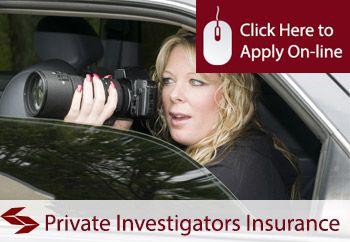 Private Investigator Professional Indemnity Insurance