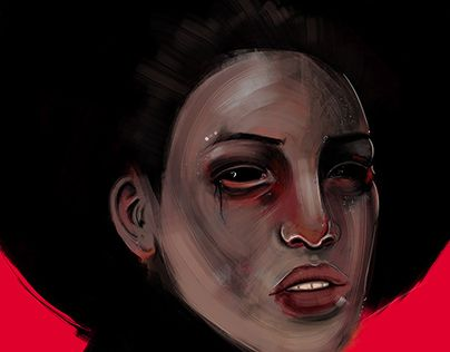 "Check out new work on my @Behance portfolio: ""HORROR"" http://be.net/gallery/34885123/HORROR"