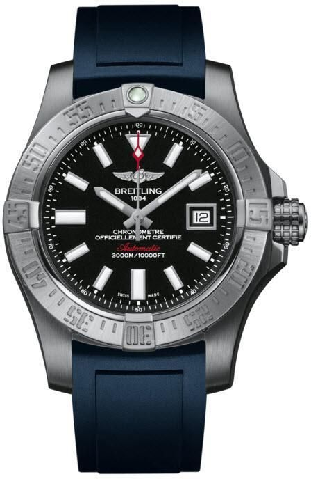 Breitling Watch Avenger Seawolf #add-content #bezel-unidirectional #bracelet-strap-rubber #brand-breitling #case-depth-18-4mm #case-material-steel #case-width-45mm #cosc-yes #date-yes #delivery-timescale-call-us #dial-colour-black #gender-mens #luxury #movement-automatic #new-product-yes #official-stockist-for-breitling-watches #packaging-breitling-watch-packaging #style-divers #subcat-avenger #supplier-model-no-a1733110-bc30-145s #warranty-breitling-official-2-year-guarantee…