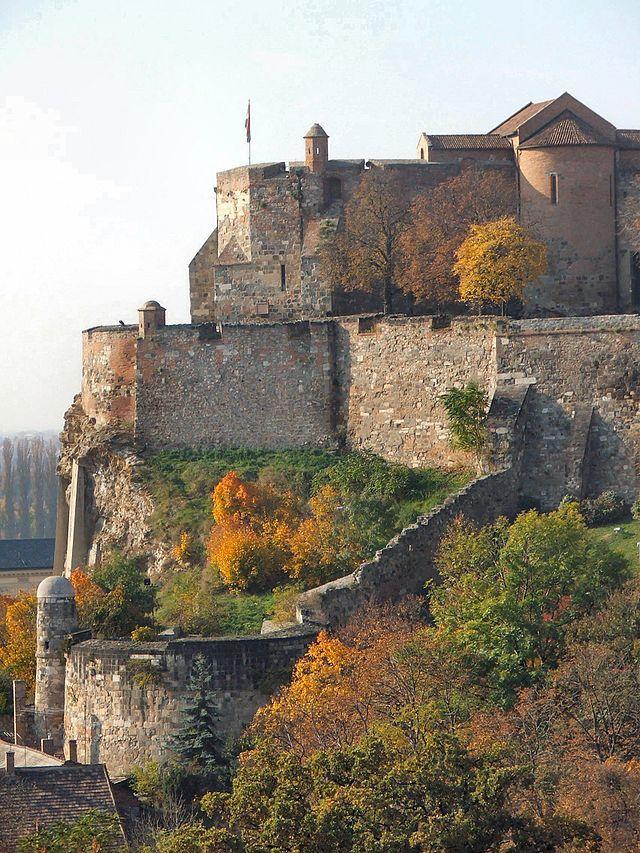 Esztergom Stronghold, Built AD 969-975 Komarom district - Hungary