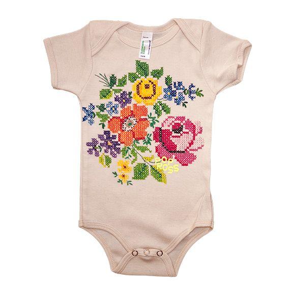 Floral body baby boho
