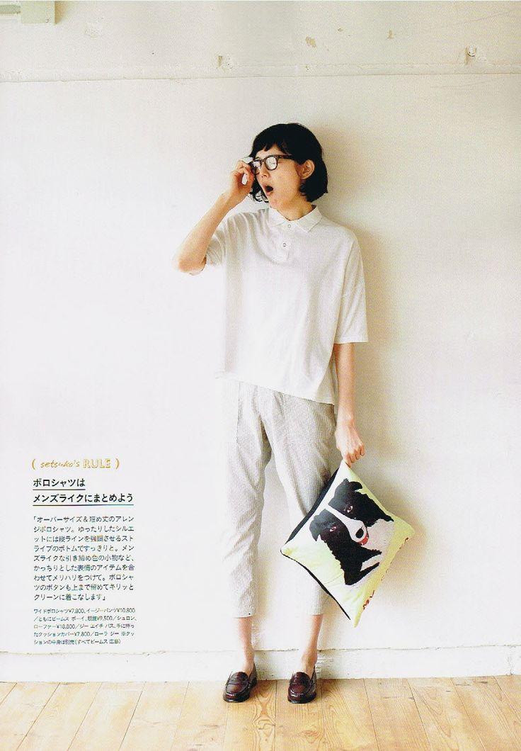 masuhana: 菊池亜希子 for リンネル 06/2014
