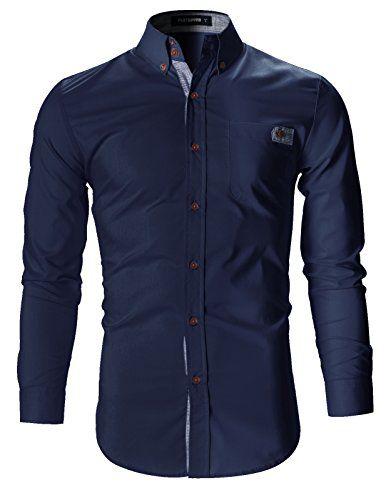 FLATSEVEN Mens Slim Fit Plaid Pointed Casual Dress Shirts... https://www.amazon.com/dp/B01H3EQWXO/ref=cm_sw_r_pi_dp_w3cMxb767Y9BP