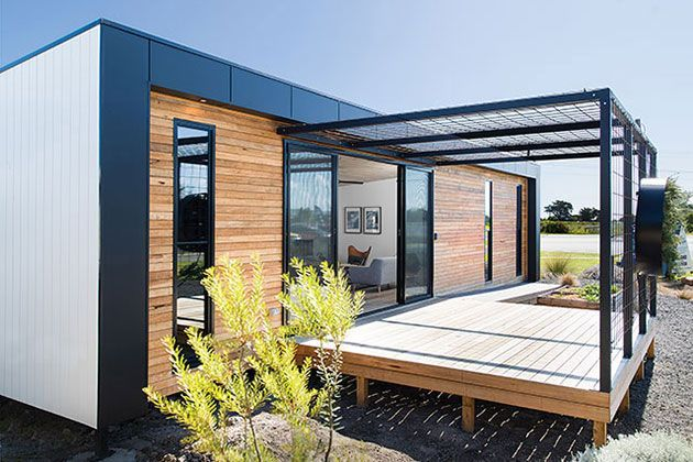 Ecoliv Sustainable Buildings - Award Winning Prefabricated Modular Designs - possible construction on rural property
