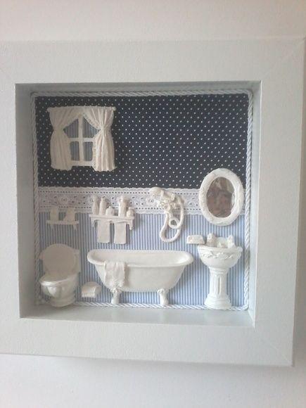 quadro banheiro