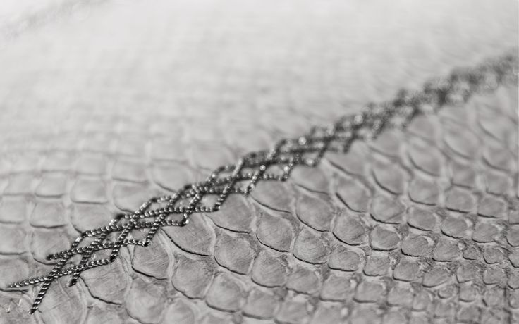 ~ snakeskin with chain ~
