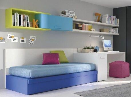 camas nidos dormitorios juveniles