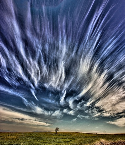 Wild sky over Colorado.