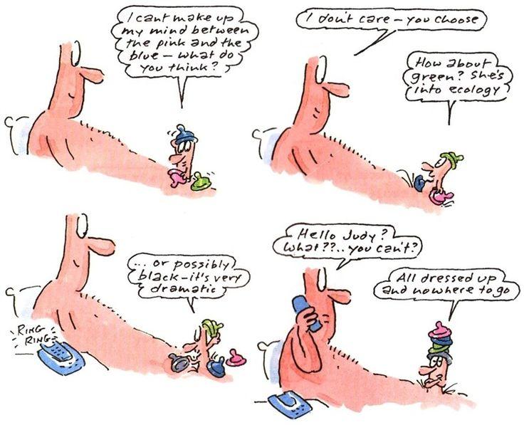 Wicked willie - Cartoon illustration by Gray Jolliffe