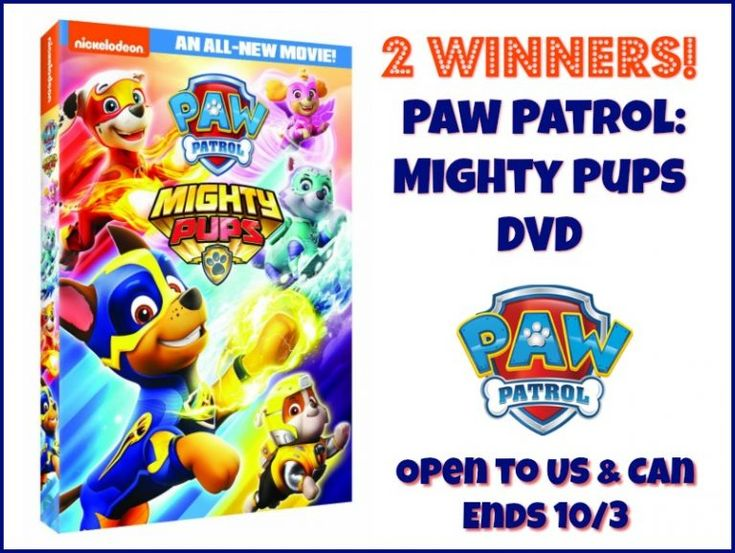 2 winners paw patrol mighty pups dvd uscan ends 103