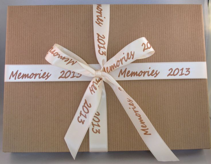 Memory Boxes - for those special photographs throughout the year or those special little things you want to keep!