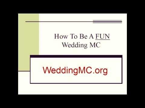 #WeddingMC Click graphic to find out how to create a FUN and Memorable #WeddingReception for the #bride and #groom. Includes #MCScripts, #WeddingGames, Entertainment Ideas, Preparation Forms, Checklists, and much, much more. Popular guide for the #WeddingEmcee. Available at #WeddingMC.org Go To http://WeddingMC.org/Wedding-Emcee.html