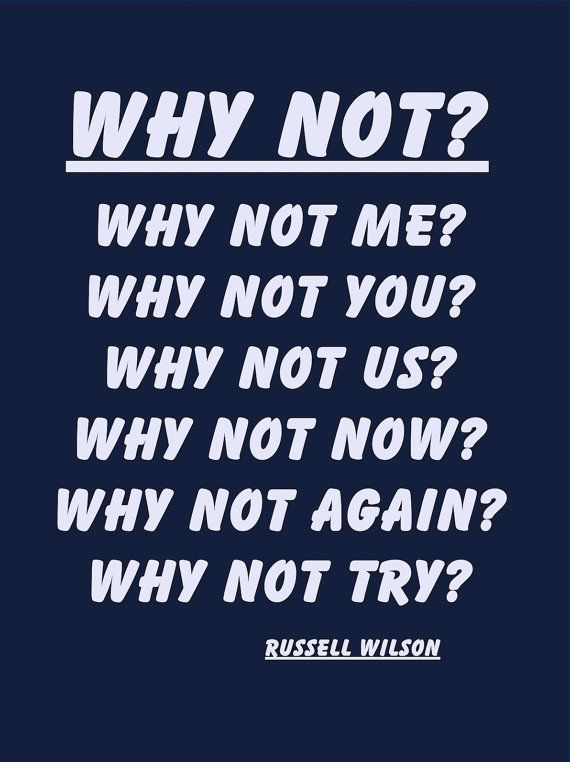 Quote Poster Russell Wilson Seattle Seahawks by ArleyArtEmporium, $11.99