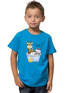 Camiseta Animales Cubo