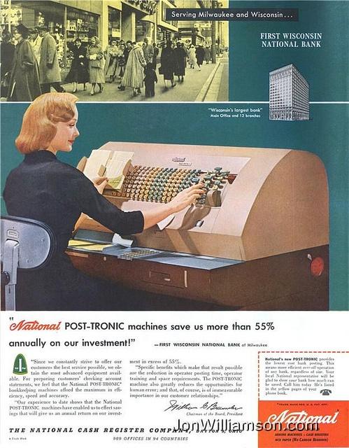National Cash Register Company - 1958