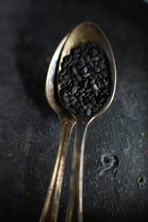 Image © Noel Barnhurst Photographer: Black Sesame Seeds
