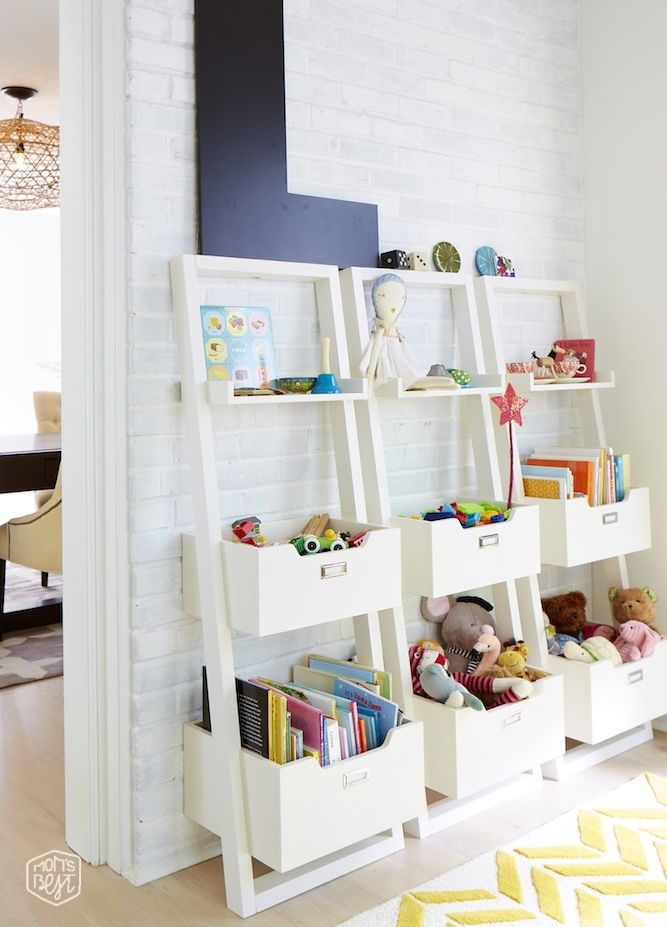 Ladder Shelving Storage