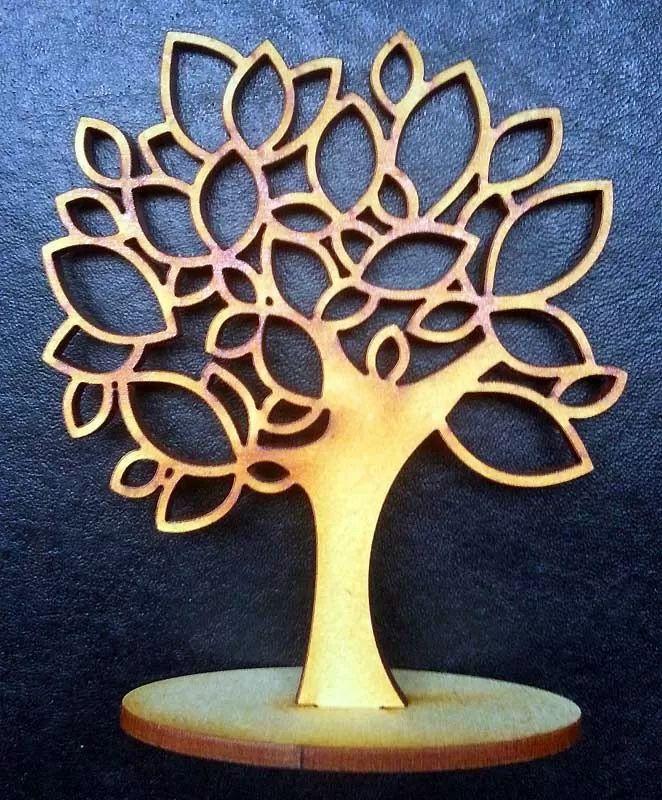 10 rboles de la vida fibrofacil madera souvenir para - Arboles en la pared ...