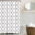 Echelon Home Chevron Shower Curtain & Reviews | Wayfair