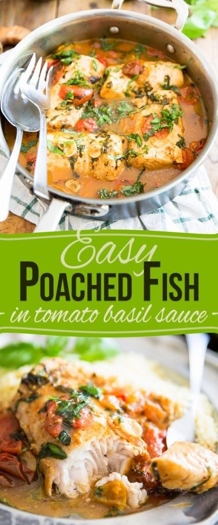 From freezer to table in under 30 minutes - you wont believe how incredibly tasty and delicious this Easy Poached Fish recipe really is!