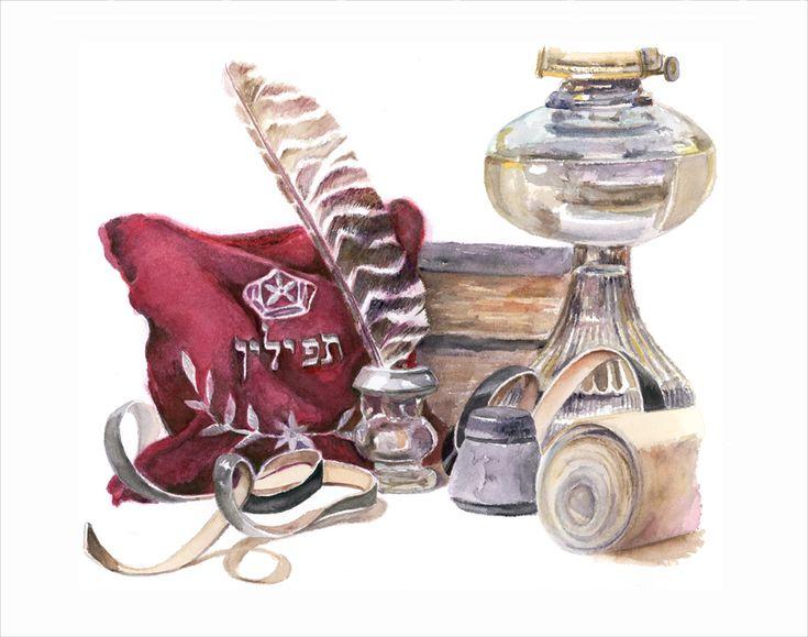 Judaica painting, still life, art,judaica art, Israeli art, Jewish art, paintings of Israel, Jewish fine art, bar mitzvah, bat mitzvah, jewish gift, jewish gifts, judaica gifts, jewish fine arts