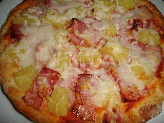 Pizza Havaiana de O mundo das receitas