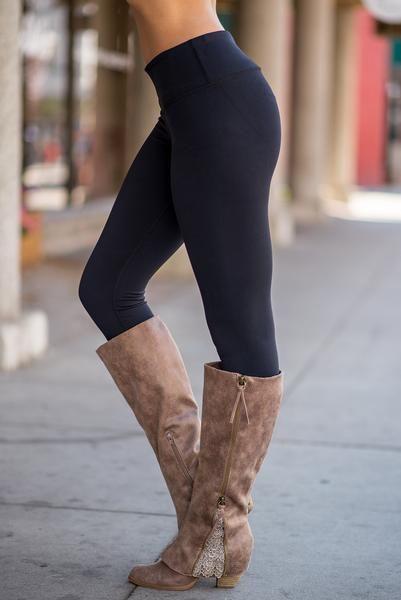 Fast Love Classic Lycra Legging (Black)