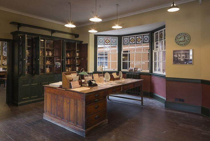Middleport Pottery in Stoke-on-Trent, UNITED KINGDOM