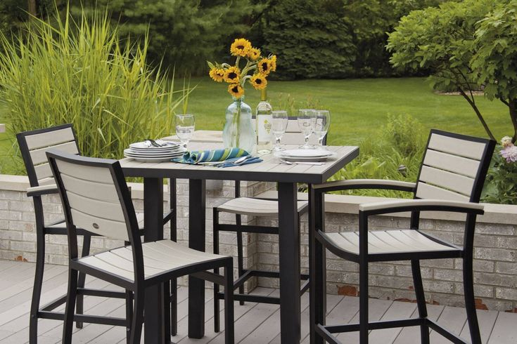 Patio High Top Tables And Chairs